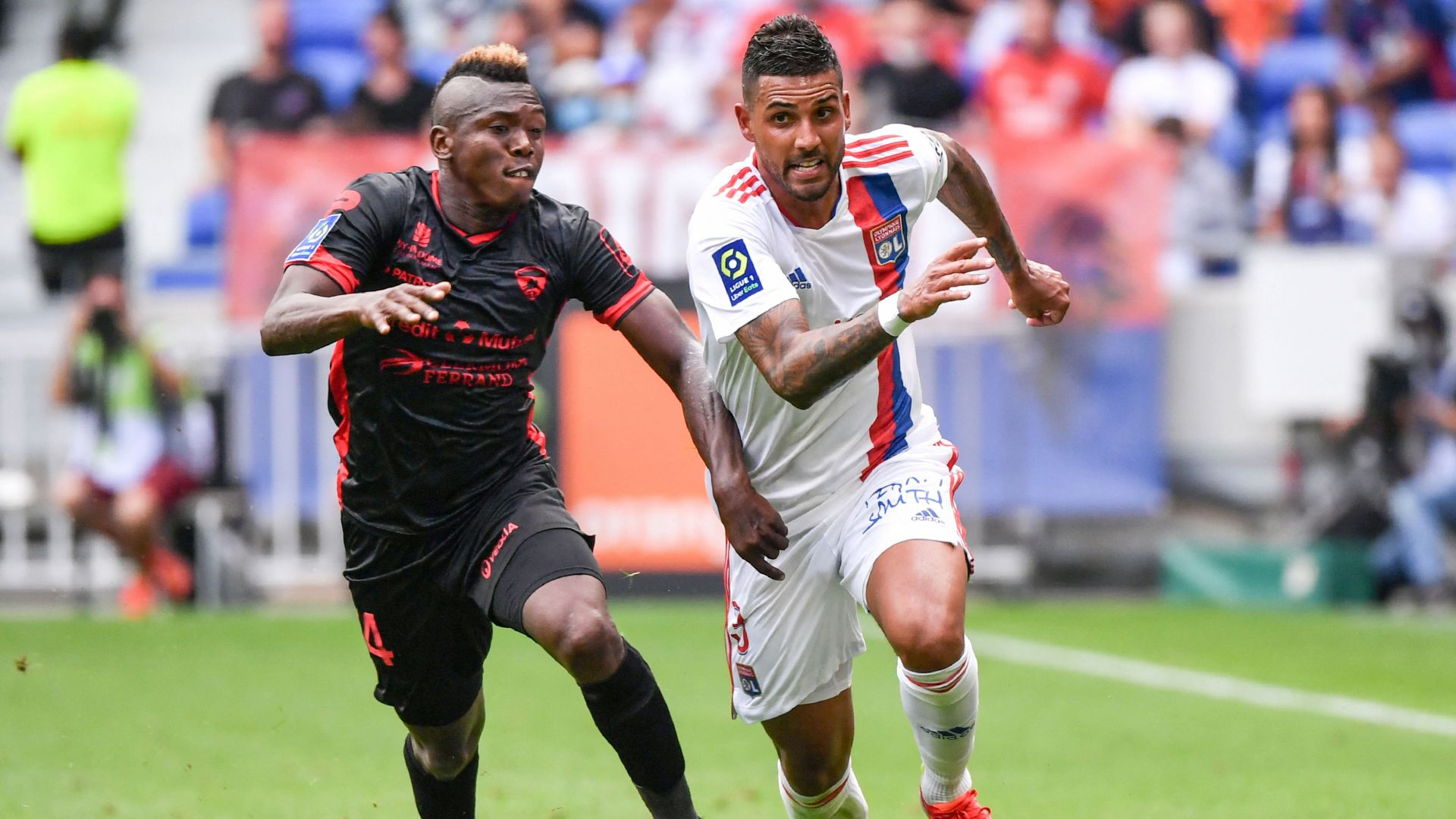 Emerson Palmieri Olympique Lyonnais Clermont Ligue 1