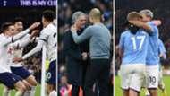 Tottenham, Mourinho y Guardiola, Manchester City