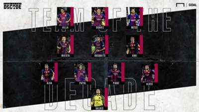 Barcelona Team of the Decade