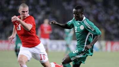 Pajtim Kasimi Stanley Okoro Nigeria Switzerland 2009