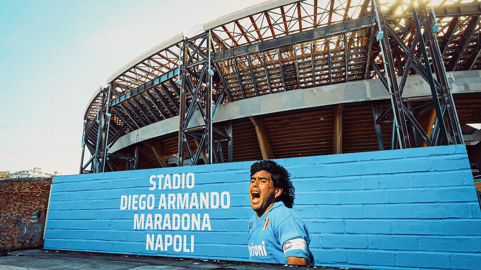 Il San Paolo diventa Stadio Maradona, ok della Giunta di Napoli