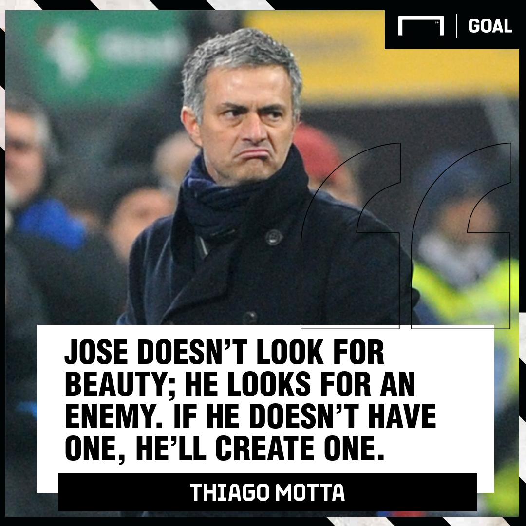 Thiago Motta Jose Mourinho Inter PS
