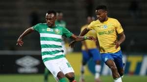 Given Mashikinya, Bloemfontein Celtic & Themba Zwane, Mamelodi Sundowns, August 2019