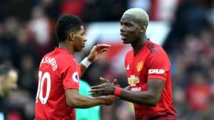Marcus Rashford Paul Pogba Man Utd 02032019
