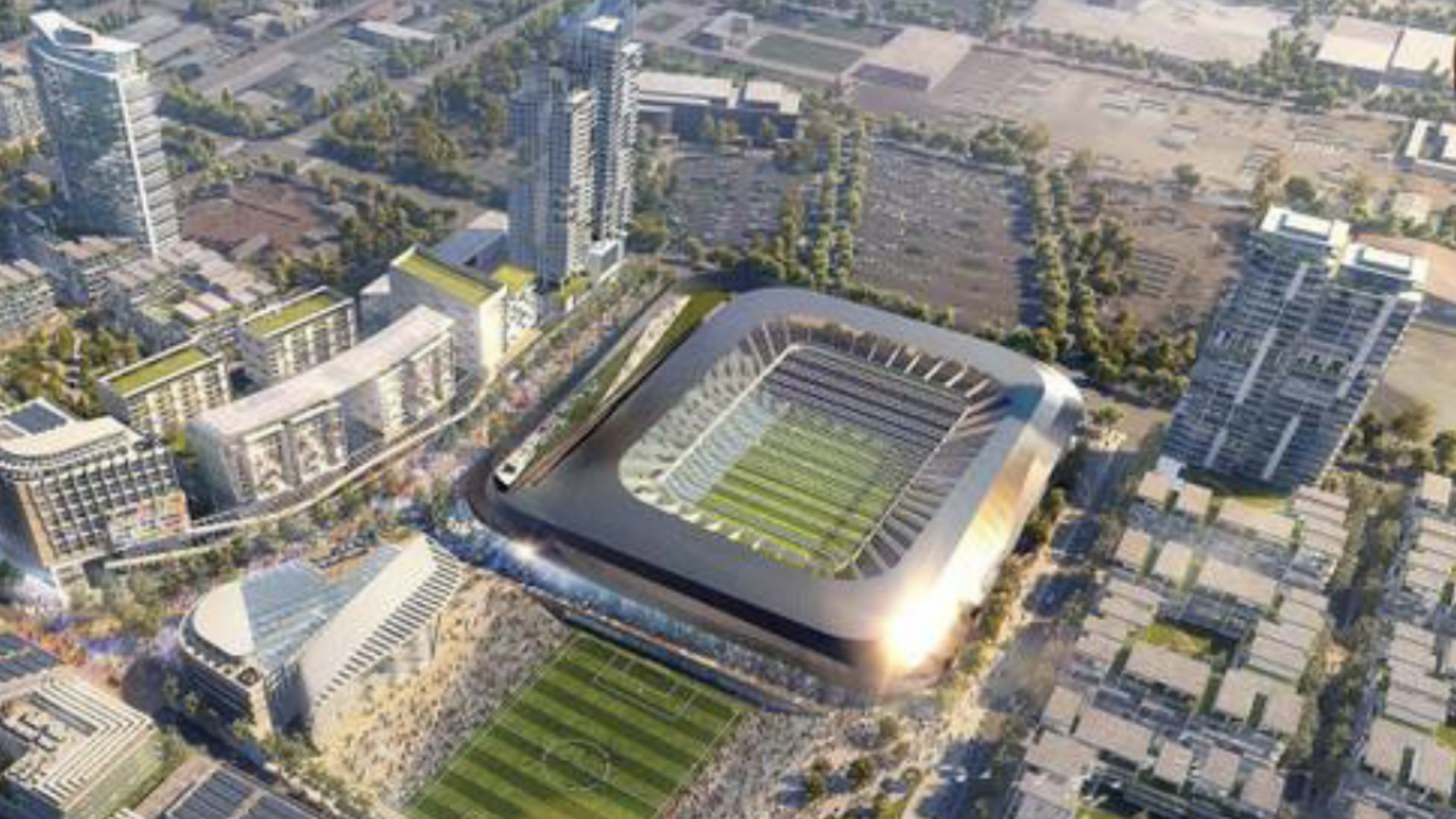 Las Vegas Expansion MLS Stadium Project
