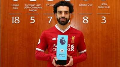 Salah Premier League player of the month