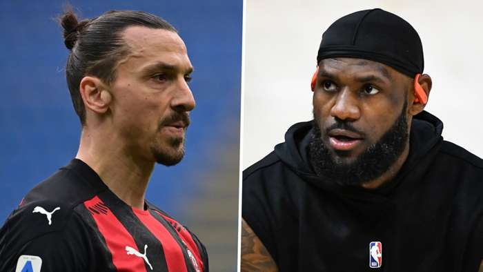 Zlatan Ibrahimovic LeBron James