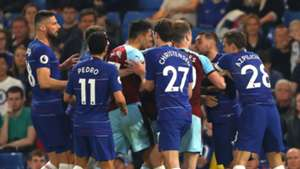 Chelsea brawl with Burnley