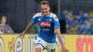 Milik Napoli Verona Serie A