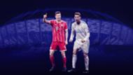Robert Lewandowski Cristiano Ronaldo GFX