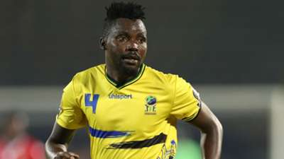 Erasto Nyoni of Tanzania during the 2019 Africa Cup of Nations Finals match between Kenya.