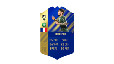 FIFA 18 Ligue 1 Team of the Season Debuchy