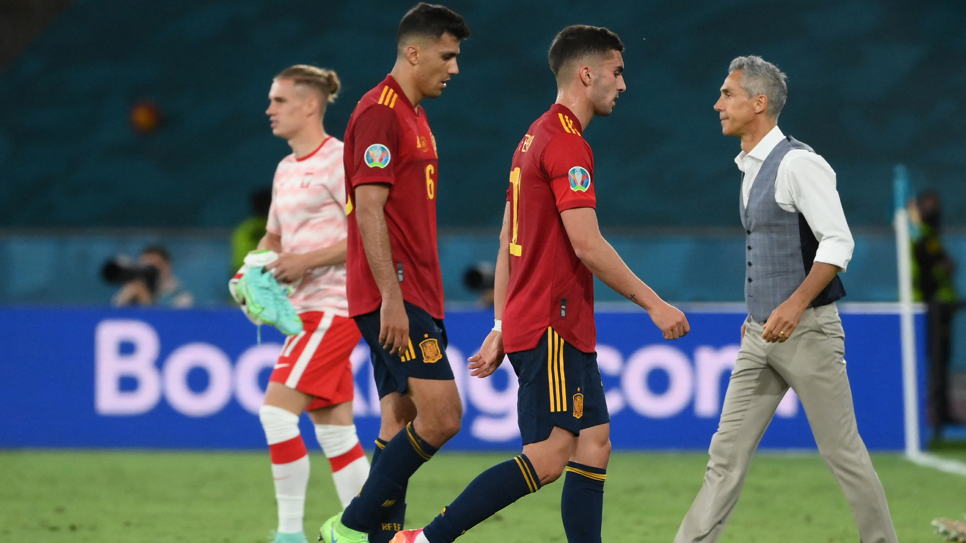 Euro 2020: Spain 1-1 Poland full match reaction and quotes: La Roja 'frustrated' with disappointing draw