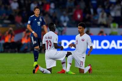Almoez Ali Akram Afif Japan vs Qatar AFC Asian Cup Final