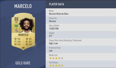 Marcelo | FIFA 19