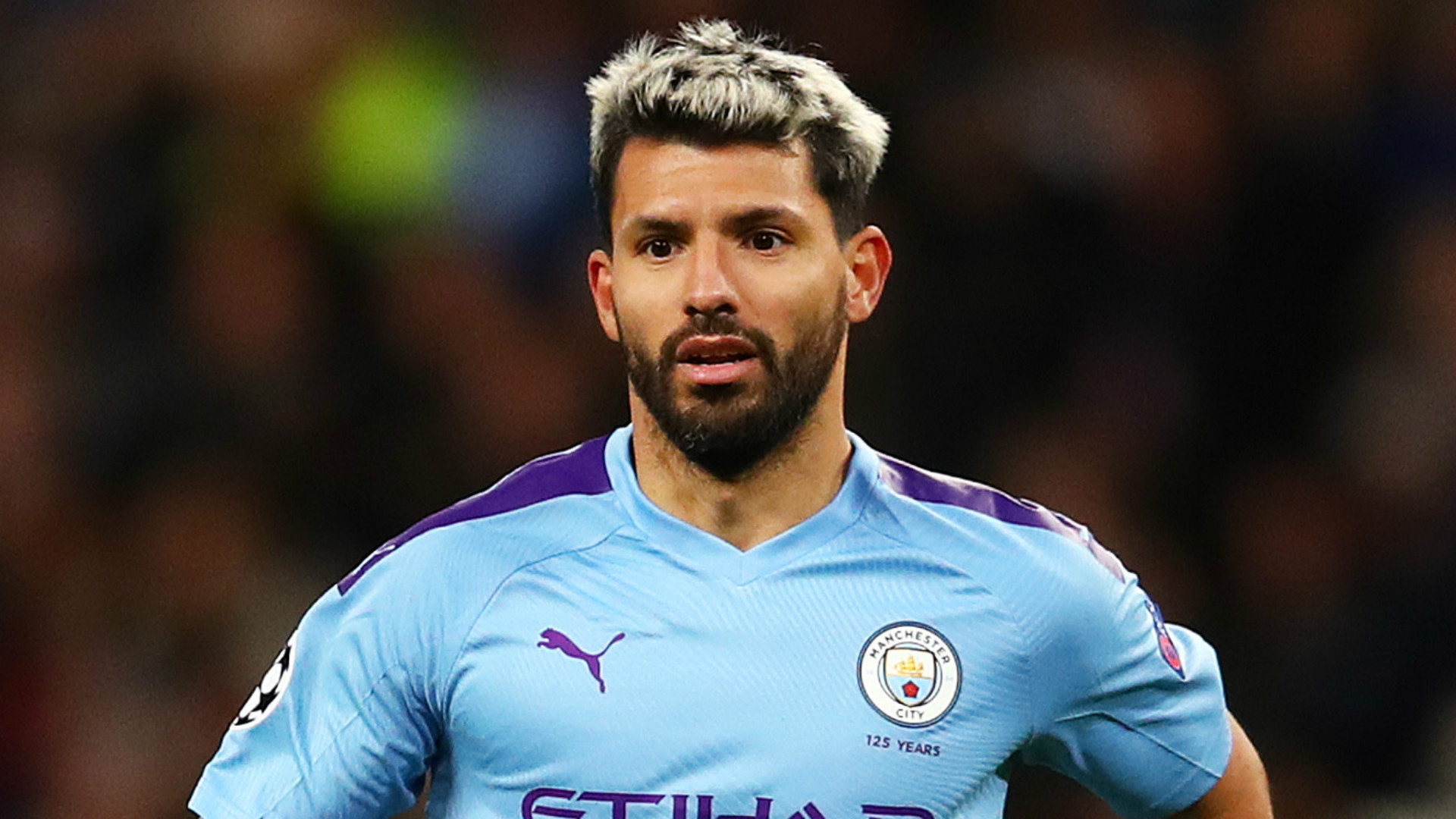 Sergio Aguero unhurt in crash