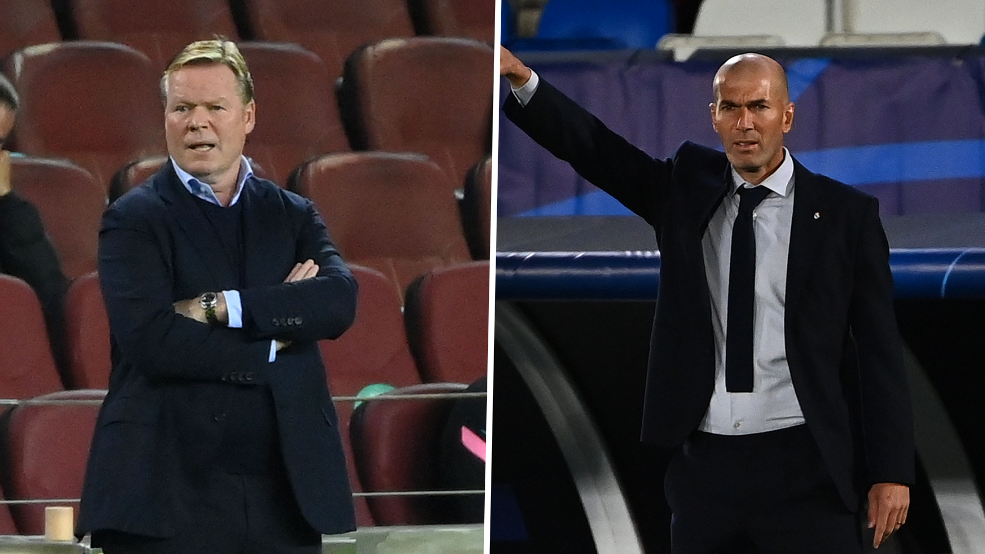 'Its annoying!' - Zidane hits back at Koeman for suggesting referees favour Real Madrid