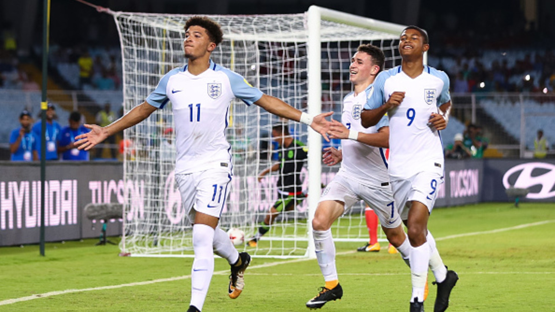 Foden, Sancho to Brewster: England's U17 World Cup winners - Where are they now?