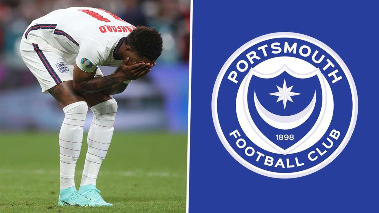 Marcus Rashford Portsmouth Football Club