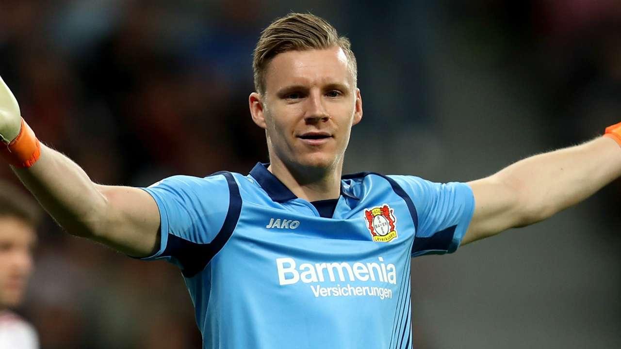 Bernd Leno Bayer Leverkusen 2017-18