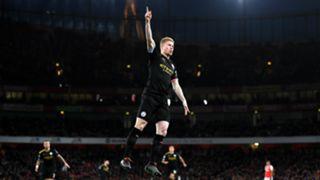 Kevin De Bruyne Arsenal v Manchester City 12152019
