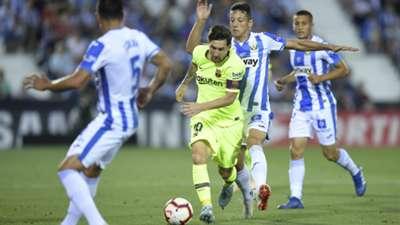 Leganes FC Barcelona Lionel Messi 26092018