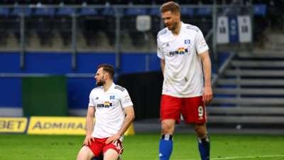 Simon Terodde Manuel Wintzheimer Hamburger SV 2. Bundesliga 29042021