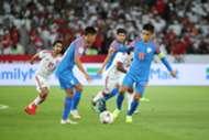 India vs UAE Sunil Chhetri