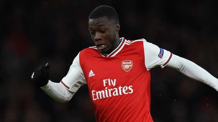 Nicolas Pepe, Arsenal 2020-21