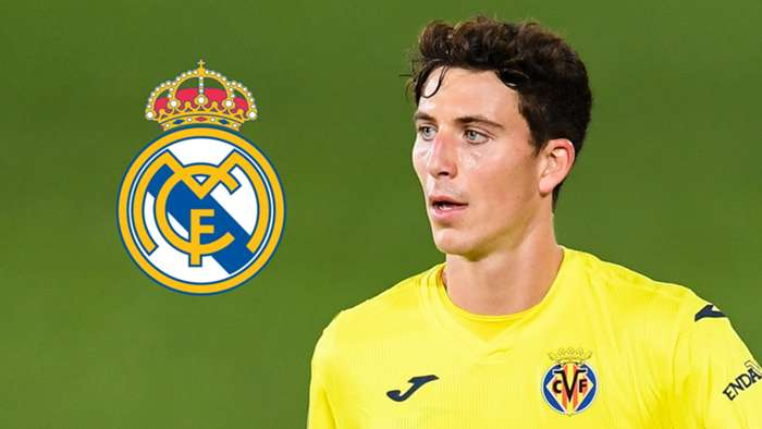 Pau Torres, Villarreal 2020-21, Real Madrid badge