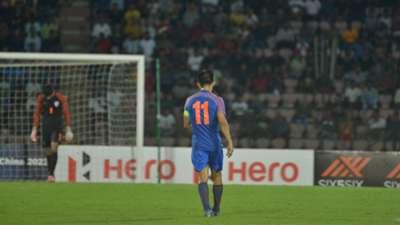 Sunil Chhetri India Oman WCQ