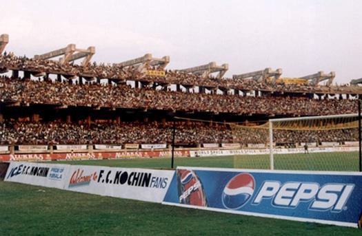 FC Kochin crowd