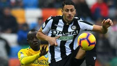 Rolando Mandragora Udinese Frosinone Serie A