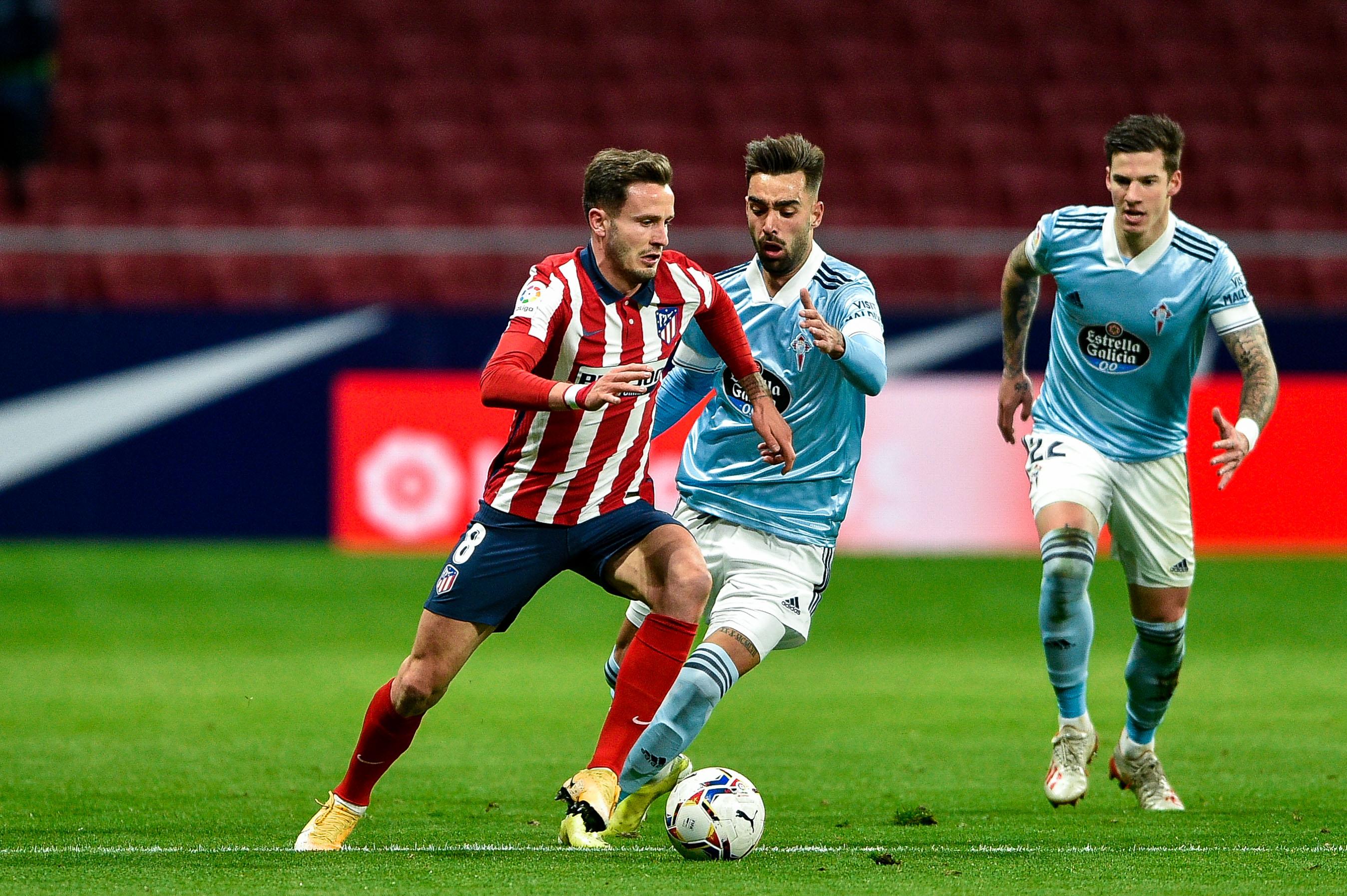 Atletico Madrid 2-2 Celta Vigo: Atletico'nun serisi sona erdi