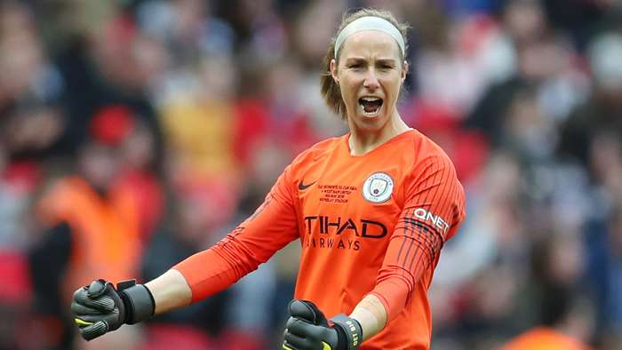Karen Bardsley Manchester City Women 2019