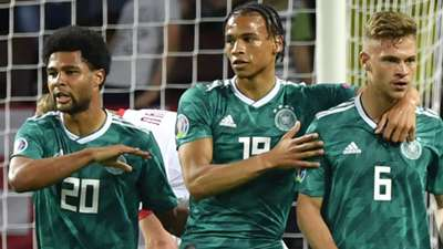 Serge Gnabry Leroy Sane Joshua Kimmich Germany HP ONLY