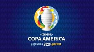 Copa America 2020 Argentina Colombia Logo