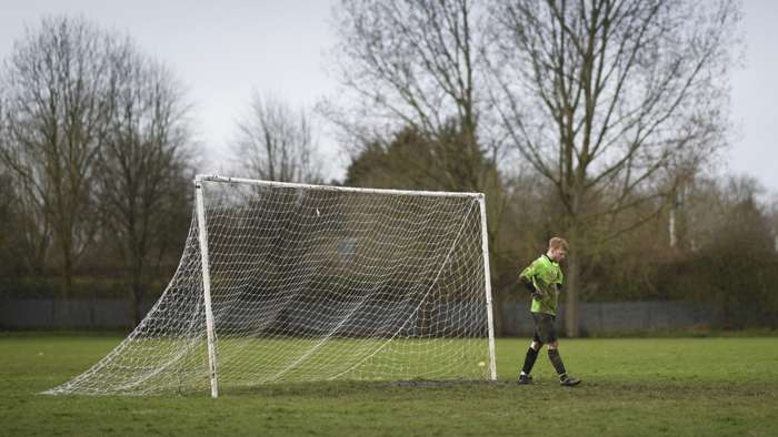 Sunday League goalkeeper