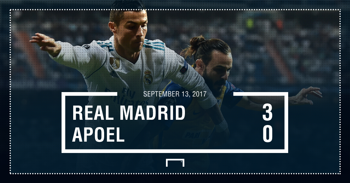 Real Madrid APOEL graphic