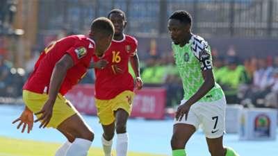 Ahmed Musa - Nigeria vs. Guinea