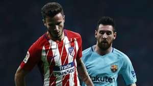 Saul Niguez Lionel Messi