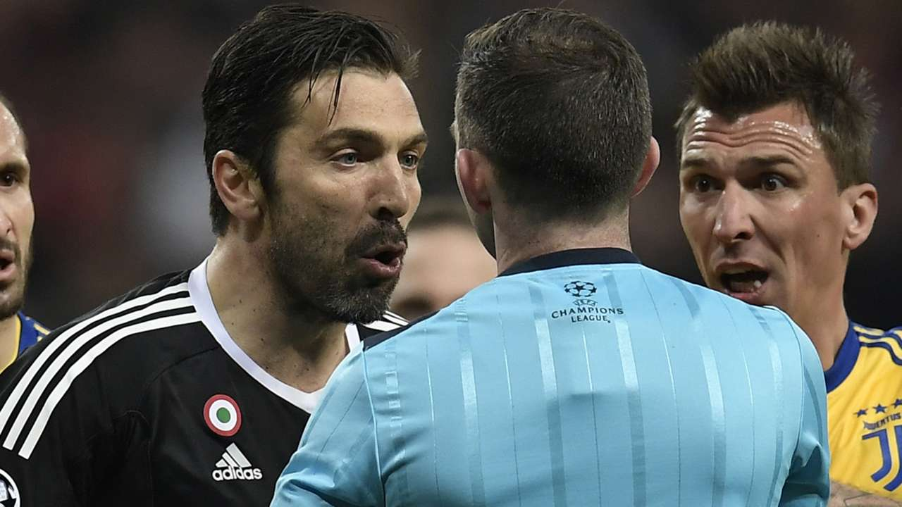 Buffon Oliver Real Madrid Juventus Getty Images