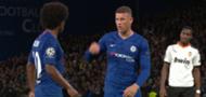 Ros Barkley Willian Chelsea Valencia 2019