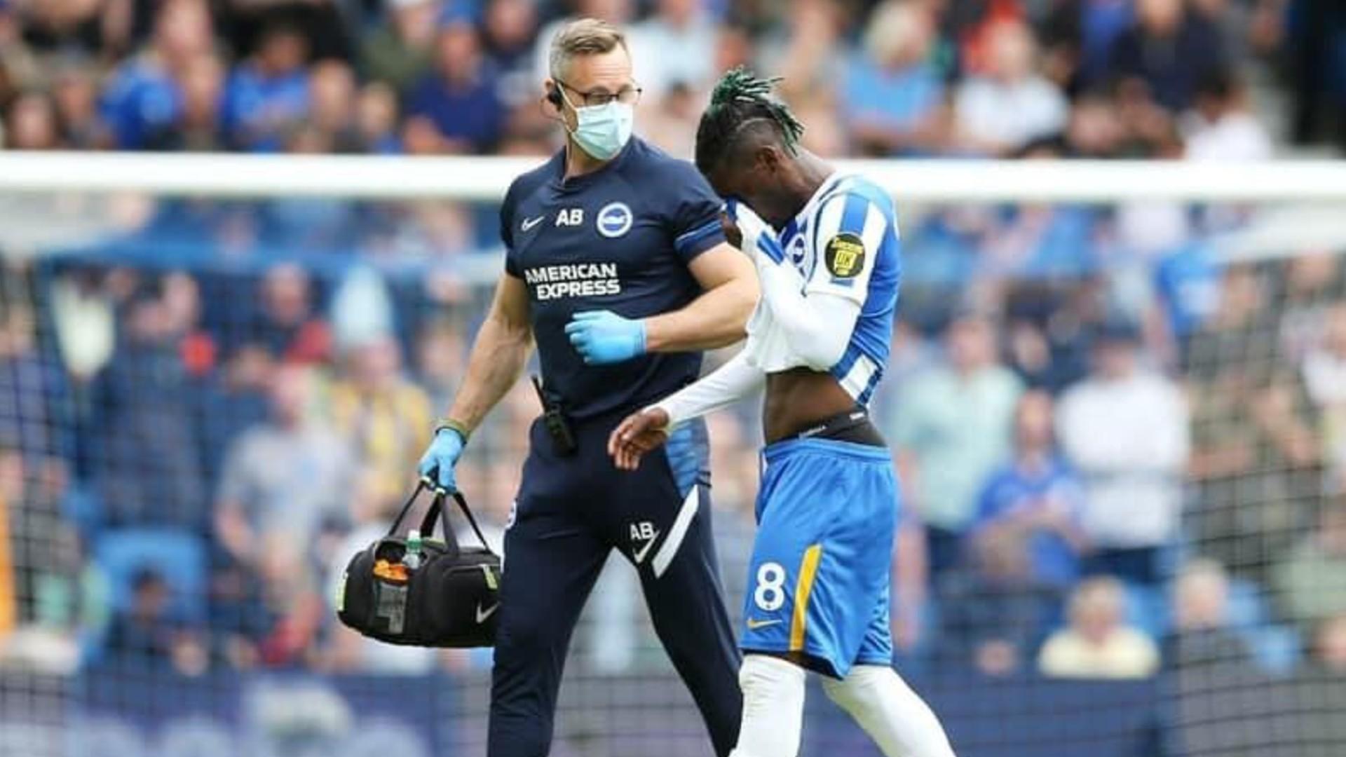 Potter's update on Bissouma injury ahead of Brighton, Arsenal Premier League meeting