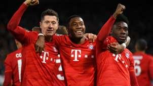 Robert Lewandowski David Alaba Alphonso Davies Bayern Munich2019-20