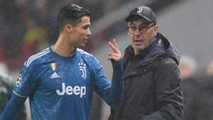 Cristiano Ronaldo Maurizio Sarri Juventus 2019-20