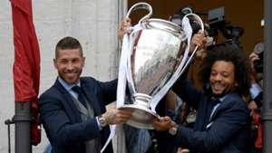 Sergio Ramos Marcelo Real Madrid 2017-18