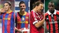 Reemplazos de Ibrahimovic