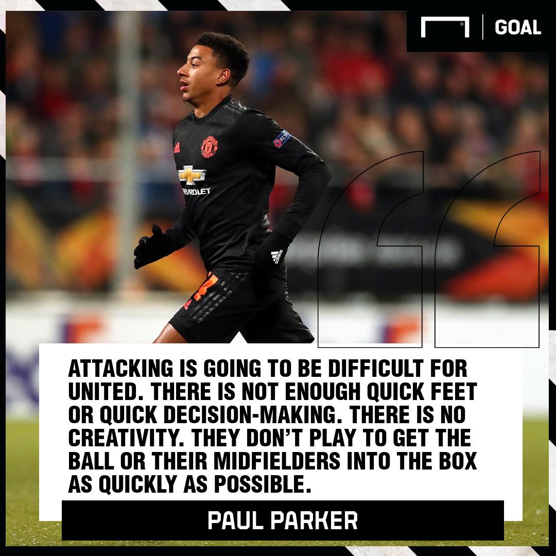 Paul Parker Jess Lingard Manchester United PS