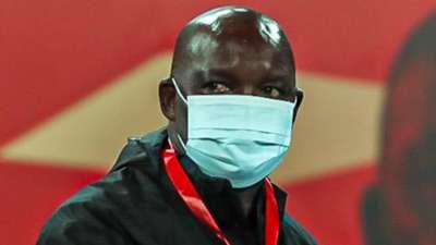 Al Ahly coach Pitso Mosimane vs Simba SC.
